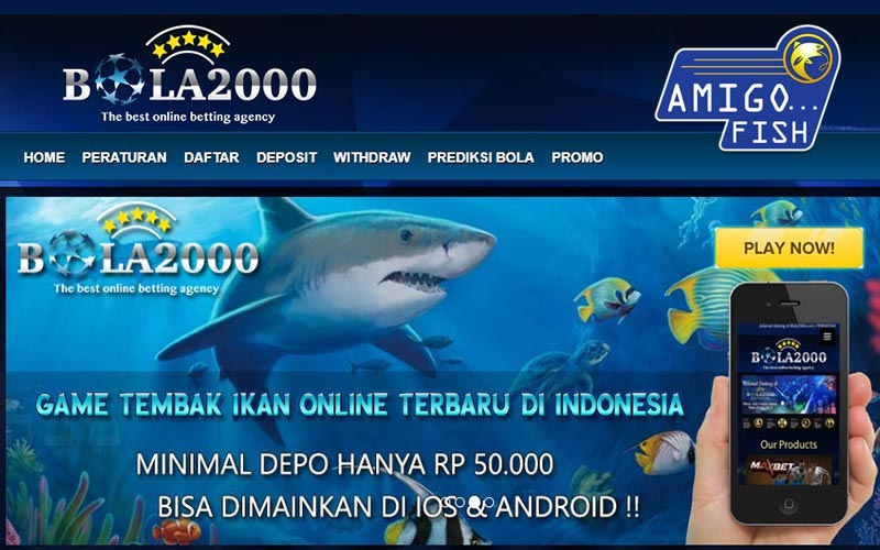 Tips Main Tembak Ikan bola2000 Via Smartphone