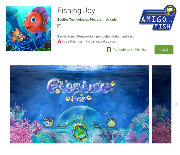 Fishing joy free game